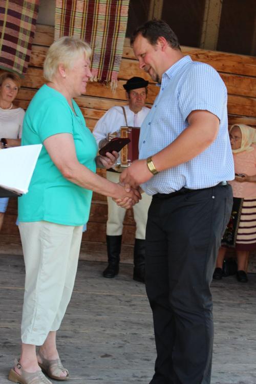 Slávnostné odovzdávanie čestných uznaní zarozvoj ľudových remesiel vŠumiaci - 26