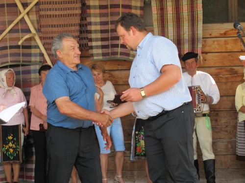 Slávnostné odovzdávanie čestných uznaní zarozvoj ľudových remesiel vŠumiaci - 87