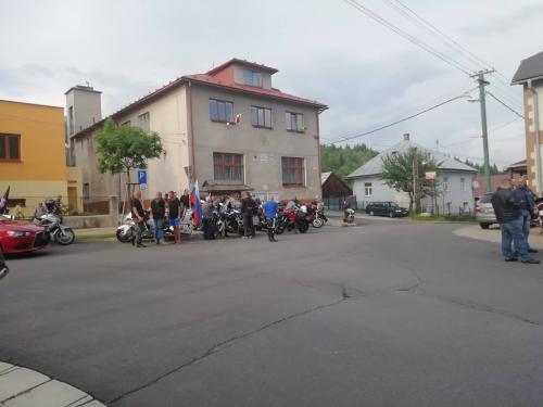 Oslavy SNP v našej obci - JAZDA SNP (Motorkári Slovenska)